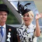 Phillip Schofield and Holly Willoughby to launch new This Morning rose for show's 30th birthday (John Walton/PA)