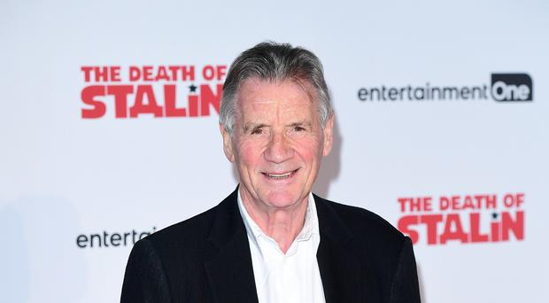Michael Palin has filmed a new travel series in North Korea.