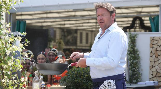 James Martin reveals weight loss due to HD TV showing 'everything' (Jonathan Brady/PA)