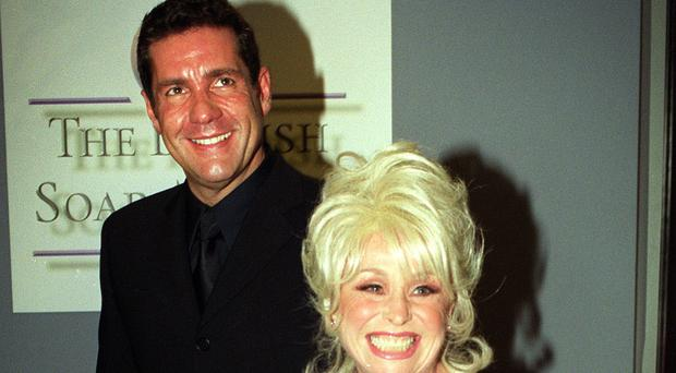 Actress Barbara Windsor, and Dale Winton (Michael Walter/PA)