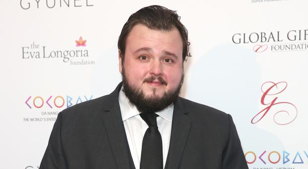 Actor John Bradley said they are 'coming to the end of filming now' (Isabel Infantes/PA)