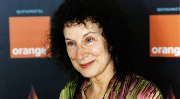 Margaret Atwood wrote the best-selling dystopian novel (Tim Matthews/PA)
