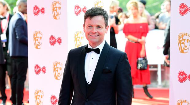 Declan Donnelly apologised after an apparent stage invader pressed the judge's buzzers during Britain's Got Talent. (Ian West/PA)