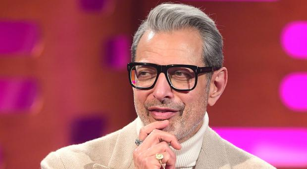 Jeff Goldblum has been signed by a record label (Ian West/PA)