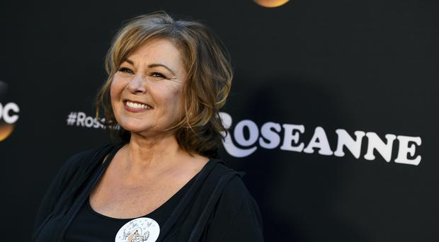 Roseanne Barr comments on ex-co-star's criticism of a tweet (Jordan Strauss/AP/PA)