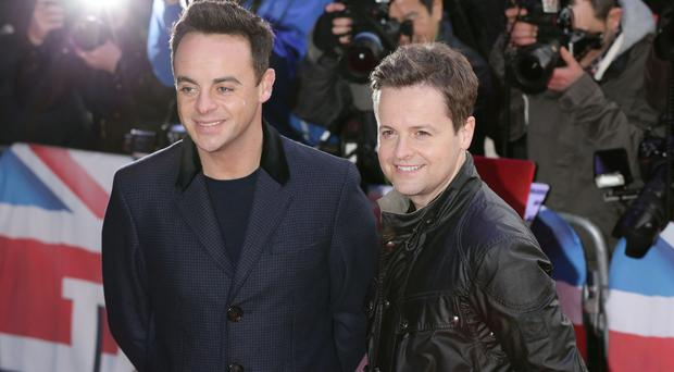 Declan Donnelly has been left solo for the live shows after Ant McPartlin stepped down from his commitments (Yui Mok/PA)