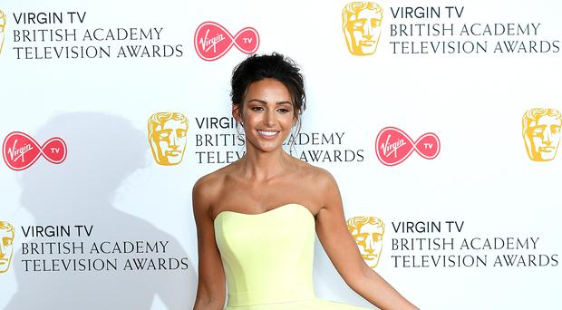 Michelle Keegan responded to a medical emergency at a restaurant last year (Ian West/PA)