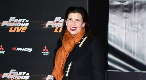Kirstie Allsopp said the family sat together when the boys were smaller but sit separately now that they are older (Ian West/PA)