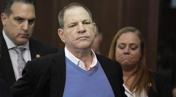 Harvey Weinstein is currently out on a one million dollar (£751,060) bail (Steven Hirsch/PA)