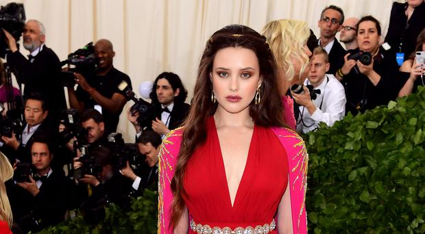 Katherine Langford played the lead role of Hannah Baker in the first two seasons (Ian West/PA)