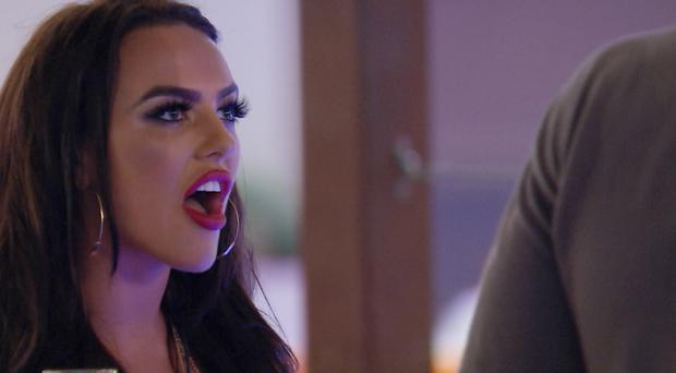 Love Island's Rosie praised for defending herself against 'muggy' Adam (ITV)