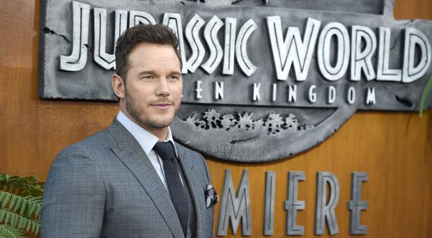 Chris Pratt arrives at the Los Angeles premiere of Jurassic World: Fallen Kingdom. (Chris Pizzello/Invision/AP)