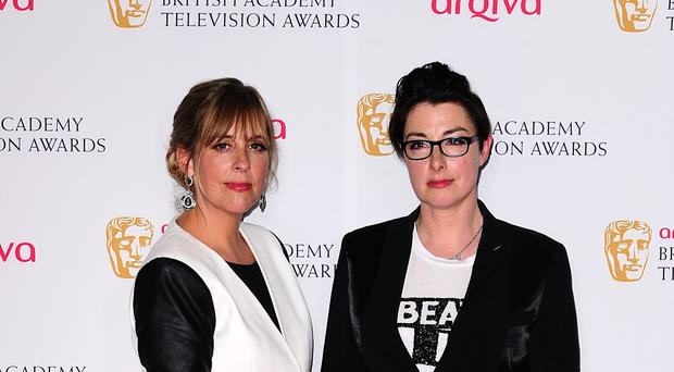 Mel Giedroyc (left) and Sue Perkins were surprisingly referenced by a during a World Cup game (Ian West/PA)