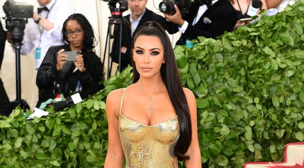 Kim Kardashian West posted a poignant tribute to her father (Ian West/PA)