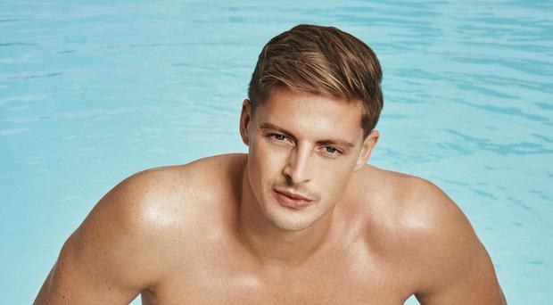 Alex George on Love Island (ITV)