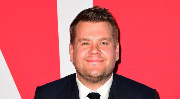 James Corden has brought his Late Late Show to London (Ian West/PA)