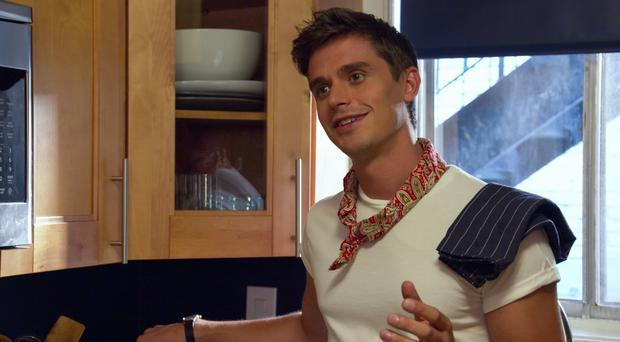 Queer Eye star Antoni Porowski has revealed his plans for a new restaurant in New York City (PA Photo/Netflix)