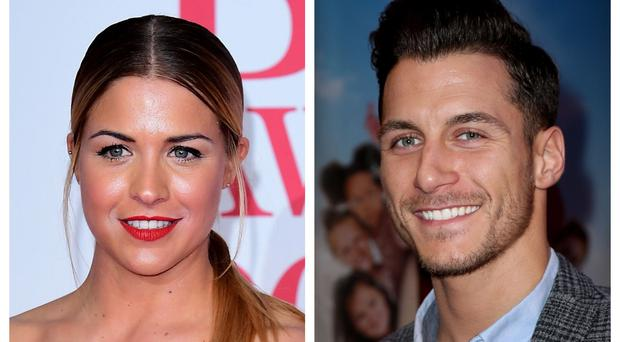 Gemma Atkinson and Gorka Marquez met on Strictly Come Dancing (PA)