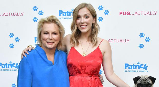 Jennifer Saunders and Beattie Edmondson (Nils Jorgensen/REX/Shutterstock)
