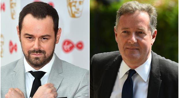 Piers Morgan is to meet Danny Dyer in one-off Good Evening Britain episode (PA)