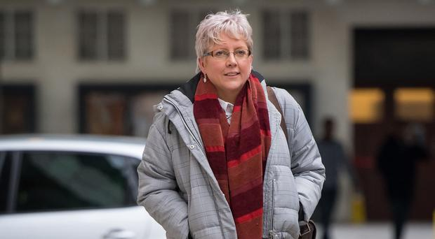 Carrie Gracie wants the money to help other women (Dominic Lipinski/PA)