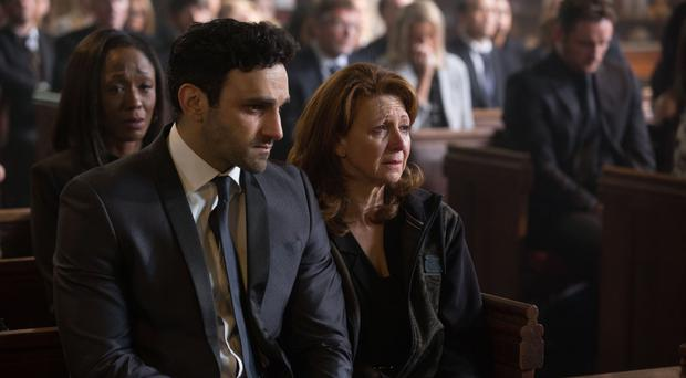 EastEnders' Davood Ghadami: I hope young people think twice about knives (BBC/Jack Barnes)