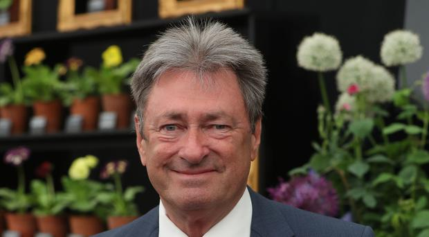 Alan Titchmarsh had to undergo knee surgery because of years of bending down gardening (Jonathan Brady/PA)