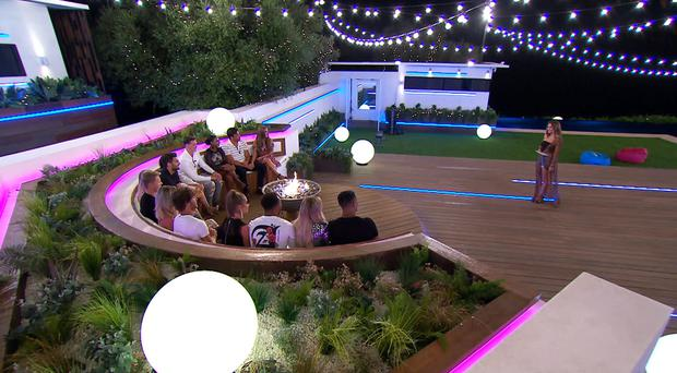 Four contestants have been dumped from Love Island after a dramatic public vote and recoupling (ITV)