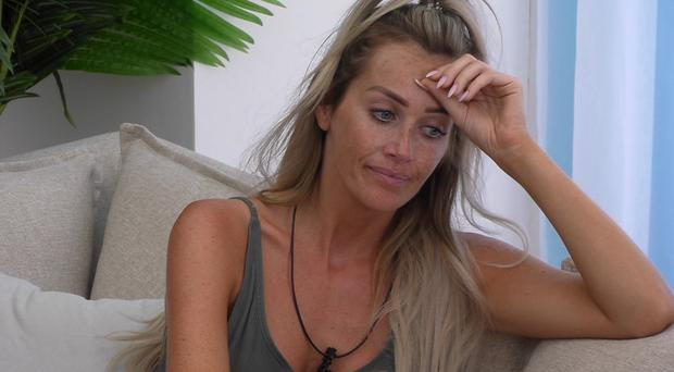 Love Island's Laura single again after tensions bubble over in the villa (ITV)