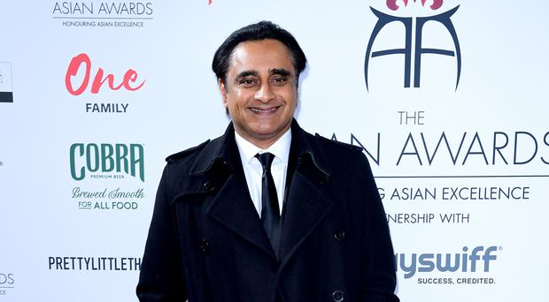 Sanjeev Bhaskar plays DI Sunil 'Sunny' Khan in Unforgotten (Ian West/PA)