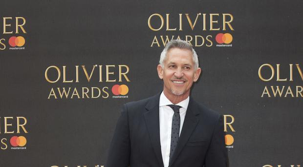 Gary Lineker topped the list (Isabel Infantes/PA)