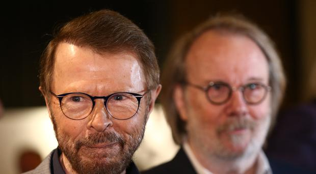 Bjorn Ulvaeus and Benny Andersson from Abba (Yui Mok/PA)