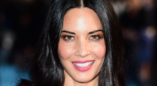 One of the stars of Predator, Olivia Munn (Ian West/PA)