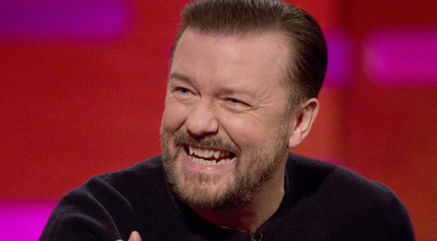 Ricky Gervais urged fans not to buy tickets from touts (Isabel Infantes/PA)