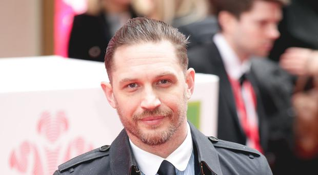 Tom Hardy has discussed his role as Venom in the upcoming Marvel movie of the same name (Yui Mok/PA)
