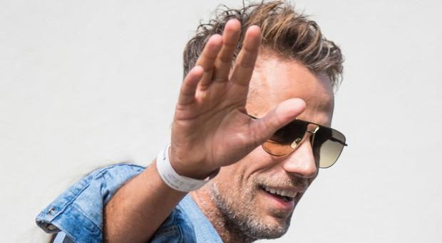 Former Blue Peter presenter Richard Bacon has said he is giving up alcohol (Dominic Lipinski/PA)