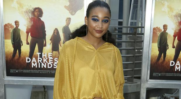 Amandla Stenberg has said it is time for an LGBT superhero film (Willy Sanjuan/Invision/AP)