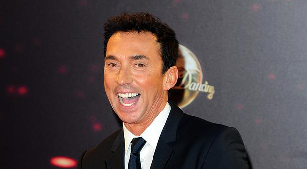 Judge Bruno Tonioli arriving for the Strictly Come Dancing photocall at Elstree Studios, London. (Ian West/PA)