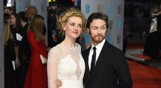 James McAvoy and Anne-Marie Duff have both been cast in the BBC adaptation of His Dark Materials (Matt Crossick/PA)