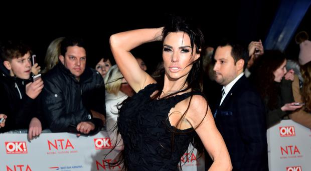 Katie Price has revealed she reported herself to police after violating her driving ban. (Matt Crossick/PA)