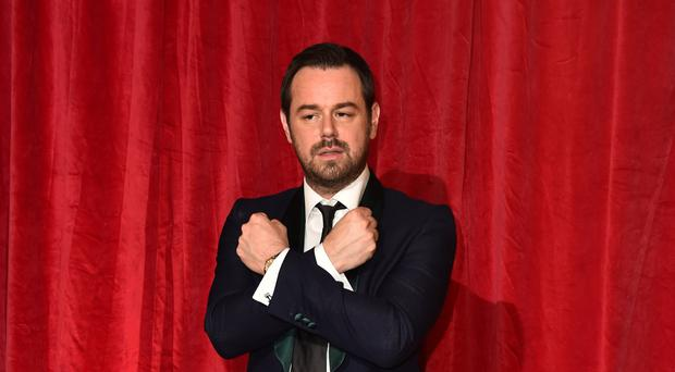 Danny Dyer attending the British Soap Awards 2016 at the Hackney Empire, 291 Mare St, London. PRESS ASSOCIATION Photo. Picture date: Saturday May 28, 2016. See PA Story SHOWBIZ Soap. Photo credit should read: Matt Crossick/PA Wire