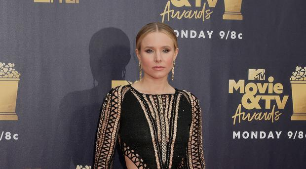 Kristen Bell was speaking at the premiere of her new film, Like Father (Francis Specker/PA)