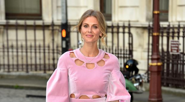Donna Air has celebrated her 39th birthday (Matt Crossick/PA)