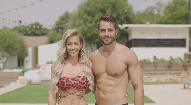 Love Island's Paul enjoys soggy Scottish weather with Laura after villa exit (ITV)