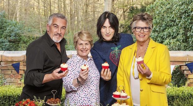 The judges and presenters of The Great British Bake Off (Love Productions/Channel 4)