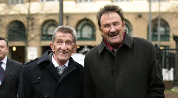 The Chuckle Brothers, Barry (left) and Paul Elliott (Yui Mok/PA)