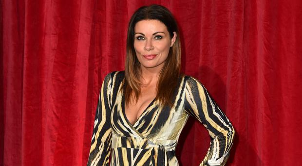 Alison King has said she does not want Carla to reunite with Peter (Matt Crossick/PA)