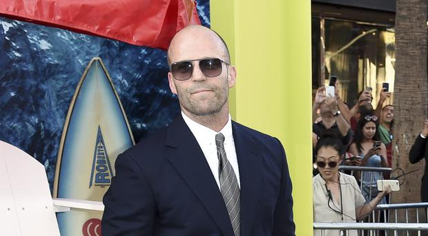 Jason Statham doesn't believe he'll be the next James Bond (Richard Shotwell/Invision/AP)