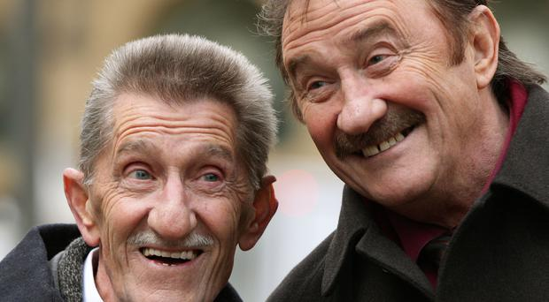 The Chuckle Brothers, Barry (left) and Paul Elliott, starred in ChuckleVision (Yui Mok/PA)