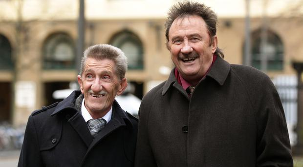 Paul Chuckle revealed he did not know 'until fairly recently' the extent of his brother and comedy partner Barry's illness (Yui Mok/PA)